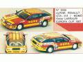 MINI Racing 335 アルピーヌ ルノー GTA V6 MOMO Europa Cup 87