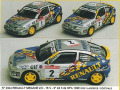 MINI Racing 344 ルノー MEGANE 2.0 16V Procar SPA 98 n.1/2 Iclx