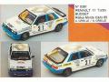 MINI Racing 391 ルノー 11 Turbo Budget MC 85 Gr.N  n.31