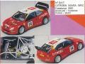 MINI Racing 417 シトロエン XSARA カタロニアラリー 2001