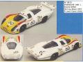 MINI Racing 613 ポルシェ 908 Long Ecurie Siffert LM 72 n.60