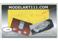 MODELART111 ref.7 Ferrari 375MM Spyder #0460 Yellow