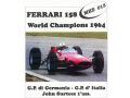 MERI MKS13 フェラーリ 158 W.チャンピオン 1964