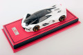 MR collection 1/43 Lamborghini Terzo Millennio Bianco Canopus Limited 18pcs