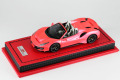 MR collection 1/43 Ferrari 488 Pista Spider Metallic Pink Limited 10pcs
