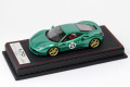 MR collection MR70-182 1/43 Ferrari 488 GTB #37 The Green Jewel inspired by 365P2 Limited 7pcs