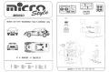 MERI / Microstyle MS020 Mazda 323 GT-R Gr.N MASS-MEDIA Rally Sanremo 1993