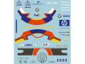 MSMクリエイション D006 1/20 J.P.モントーヤ/R.シューマッハ フィギュア デカール ウィリアムズ 2002【メール便可】