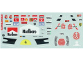 MSMクリエイション D058 1/20 M.シューマッハ デカール (フェラーリ 2003 - 2006)【メール便可】