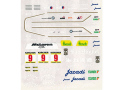 MSMクリエイション D075 1/43 San Miguel マクラーレン F1 GTR 1995 BPR GT Zhuhai 3 hours Winner【メール便可】