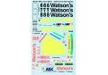 MSMクリエイション D125 1/43 BMW M3(E30) 1991 Macau Guia Race Watson's【メール便可】