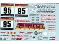 MSMクリエイション D127 1/24 Spoon ABA-NA2 NSX-R GT 2008 Macau Road Sport Challenge【メール便可】