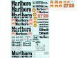 MSMクリエイション D193 1/12 マクラーレン MP4/5B スポンサーデカール for Hiro 【メール便可】