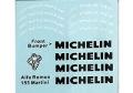 MSMクリエイション D228 1/24 Alfa Romeo 155 DTM (Martini) Michelin デカール 【メール便可】
