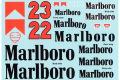 MSMクリエイション D252 1/12 Alfa Romeo 179/179C Tobacco Decal 【メール便可】