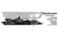 NewScratch 20E1819PBLK 1/20kit Formula E GEN2 2018-2019 Test Black