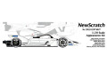NewScratch 20E1819PWHT 1/20kit Formula E GEN2 2018-2019 Concept White