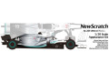 ** 予約商品 ** NewScratch 20F19N4477Rd11 1/20kit F1 2019 n.44/77 Rd.11 German GP