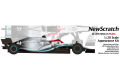 NewScratch 20F19N4477Rd6 1/20kit F1 W10 2019 n.44/77 Rd.6 Monaco GP