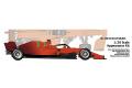 **Preorder** New-scratch 20F21N1655Rd05 1/20kit F1 SF21 2021 n.16/55 Rd.05 Monaco GP