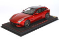 BBR P18143DV 1/18 Ferrari GTC4 Lusso T (Panoramic roof) Rosso Fuoco Metal Limited 24pcs (ケース付)