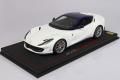 ** 予約商品 ** BBR P18147IWV 1/18 Ferrari 812 Superfast Metallic Italian White /Blue roof Limited 48pcs (ケース付)