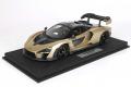 ** 予約商品 ** BBR P18149PV 1/18 McLaren Senna White Silica Limited 46pcs (ケース付)