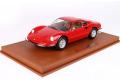 BBR P18150V 1/18 Ferrari Dino 246 GT TIPO 607L 1969 Red Limited 246pcs (ケース付)