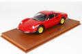 BBR P18150GV 1/18 Ferrari Dino 246 GT TIPO 607L 1969 Red /Yellow wheels Limited 24pcs (ケース付)
