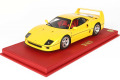 BBR P18151BV 1/18 Ferrari F40 1987 Modena Yellow Limited 76pcs (ケース付)
