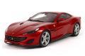 ** 予約商品 ** BBR P18157AV 1/18 フェラーリ ポルトフィーノ (closed roof ver.) Rosso Portofino (ケース付)