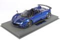 ** 予約商品 ** BBR P18159B1V 1/18 Pagani Huayra Roadster BC Special Metallic Blue Limited 48pcs (ケース付)
