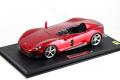** 予約商品 ** BBR P18164BV 1/18 Ferrari Monza SP1 Red Magma Limited 250pcs (ケース付)