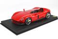 ** 予約商品 ** BBR P18164CV 1/18 Ferrari Monza SP1 Rosso Corsa Limited 48pcs (ケース付)