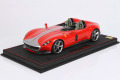 ** 予約商品 ** BBR P18165IV 1/18 Ferrari Icona SP2 Rosso Corsa / Silver stripe Limited 109pcs (ケース付)