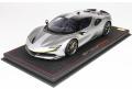 ** 再入荷待ち ** BBR P18180RAV 1/18 Ferrari SF90 Stradale Racing version Met. Iron Grey Limited 229pcs (ケース付)