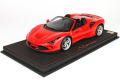 ** 予約商品 ** BBR P18183BV 1/18 Ferrari F8 Tributo Spider Rosso Corsa Limited 258pcs(ケース付)