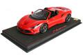 ** 予約商品 ** BBR P18183B1V 1/18 Ferrari F8 Spider Rosso Corsa Limited 48pcs (ケース付)