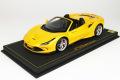 ** 予約商品 ** BBR P18183CV 1/18 Ferrari F8 Tributo Spider Giallo Tristrato Limited 99pcs (ケース付)