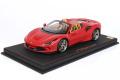 ** 予約商品 ** BBR P18183H1V 1/18 Ferrari F8 Spider Matt Rosso Corsa Limited 24pcs (ケース付)