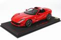 ** 予約商品 ** BBR P18184BV 1/18 Ferrari 812GTS Rosso Corsa (ケース付)
