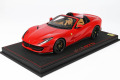 BBR P18184B1V 1/18 Ferrari 812GTS Rosso Corsa / Black Wheels Limited 32pcs (ケース付)