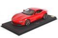 ** 予約商品 ** BBR P18185E2V 1/18 Ferrari Roma Rosso Corsa Limited 40pcs (ケース付)