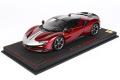 ** 予約商品 ** BBR P18188BV 1/18 Ferrari SF90 Stradale Pack Fiorano Rosso Fuoco Limited 99pcs (ケース付)