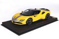 ** 予約商品 ** BBR P18188CV 1/18 Ferrari SF90 Stradale Pack Fiorano Giallo Modena Limited 48pcs (ケース付)