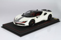 ** 予約商品 ** BBR P18188EV 1/18 Ferrari SF90 Stradale Pack Fiorano Bianco Italia Metal Limited 16pcs (ケース付)