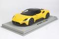 ** 予約商品 ** BBR P18191DV 1/18 Maserati MC20 2020 Giallo Genio Limited 150pcs (ケース付)