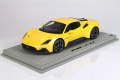 ** 予約商品 ** BBR P18191D1V 1/18 Maserati MC20 2020 Giallo Genio (ルーフ同色) Limited 24pcs (ケース付)