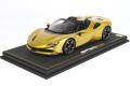 ** 予約商品 ** BBR P18194AV 1/18 Ferrari SF90 Spider Giallo Montecarlo (ケース付)