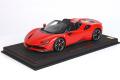 ** 予約商品 ** BBR P18194CV 1/18 Ferrari SF90 Spider Rosso Corsa (ケース付)